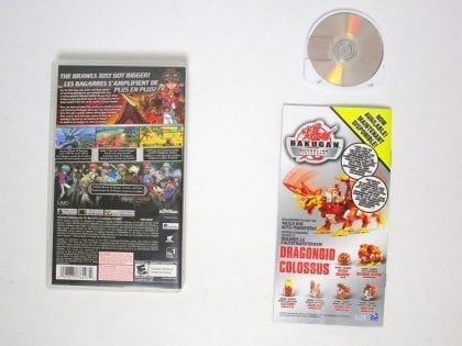 Bakugan: Defenders of the Core game for PSP (Complete)   The Game Guy