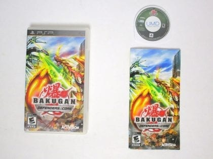 Bakugan: Defenders of the Core game for Sony PSP -Complete