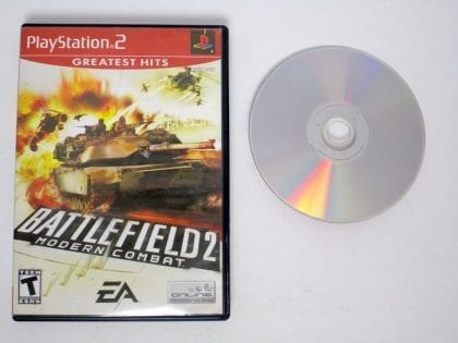 Battlefield 2 Modern Combat game for Sony Playstation 2 PS2 -Game & Case