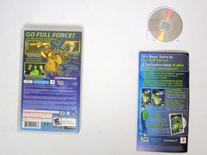 Ben 10 Alien Force game for PSP (Complete)   The Game Guy