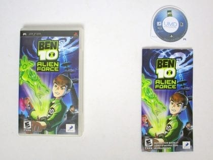 Ben 10 Alien Force game for Sony PSP -Complete