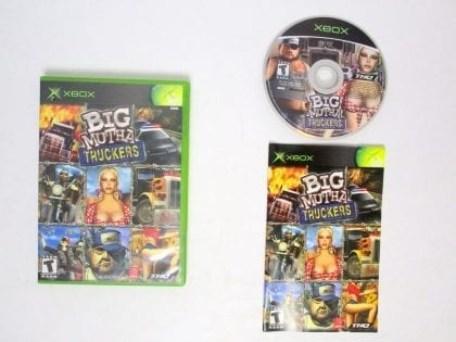 Big Mutha Truckers game for Microsoft Xbox -Complete