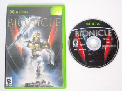 Bionicle game for Microsoft Xbox -Game & Case