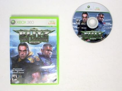 Blitz the League game for Microsoft Xbox 360 -Game & Case