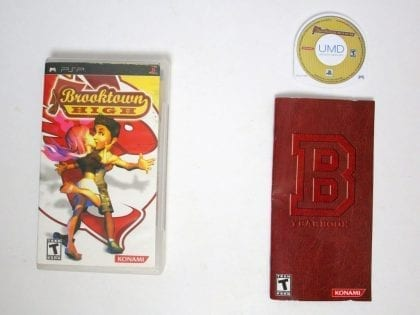 Brooktown High game for Sony PSP -Complete
