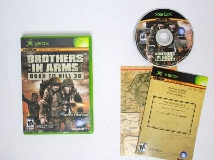 Brothers in Arms Road to Hill 30 game for Xbox (Complete) | The Game Guy