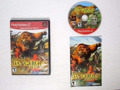 Cabela's Dangerous Hunts game for Sony Playstation 2 PS2 -Complete