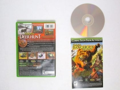 Cabela's Deer Hunt 2004 game for Xbox (Complete)   The Game Guy