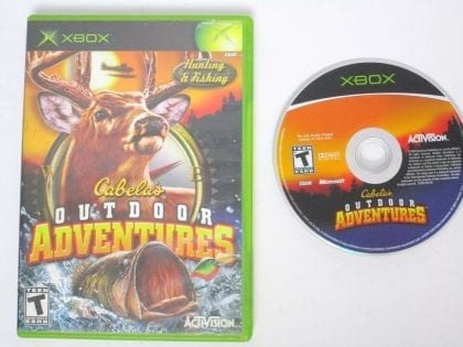 Cabela's Outdoor Adventures game for Microsoft Xbox -Game & Case