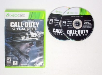 Call of Duty: Ghosts game for Microsoft Xbox 360 -Game & Case