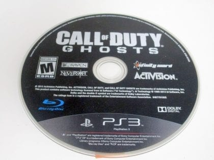 Call of Duty: Ghosts game for Sony Playstation 3 PS3 - Loose