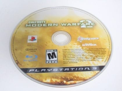 Call of Duty: Modern Warfare 2 game for Sony Playstation 3 PS3 - Loose