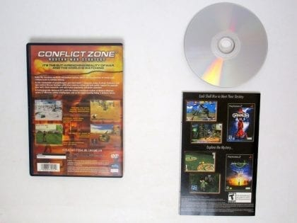 Conflict Zone Modern War Strategy game for Playstation 2 (Complete) | The Game Guy