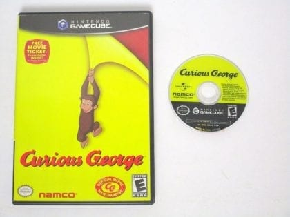 Curious George game for Nintendo Gamecube -Game & Case