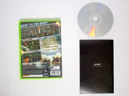 Dead Rising game for Xbox 360 (Complete)   The Game Guy