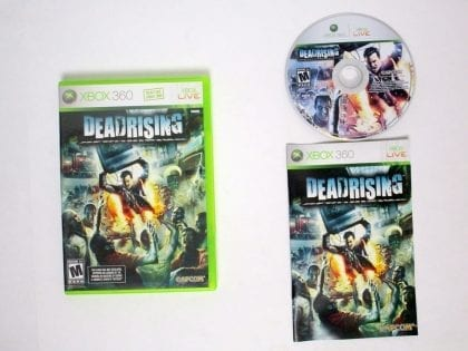 Dead Rising game for Microsoft Xbox 360 -Complete