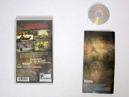 Dead to Rights Reckoning game for PSP (Complete)   The Game Guy