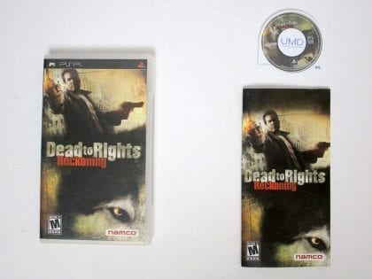 Dead to Rights Reckoning game for Sony PSP -Complete