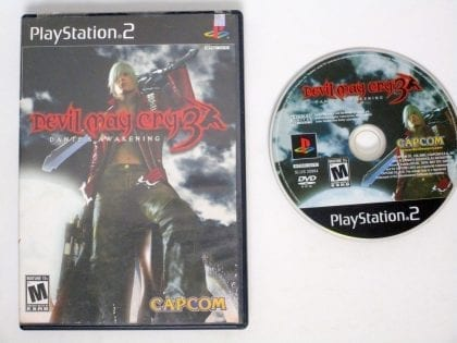 Devil May Cry 3 game for Sony Playstation 2 PS2 -Game & Case