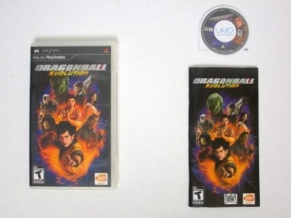 Dragonball: Evolution game for Sony PSP -Complete