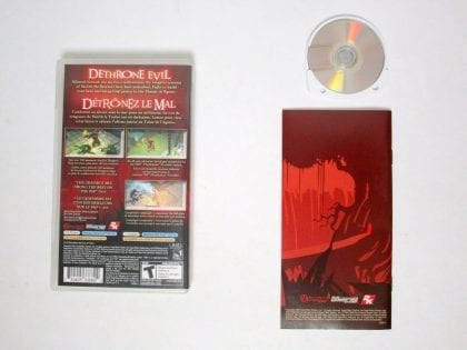 Dungeon Siege Throne of Agony game for PSP (Complete)   The Game Guy