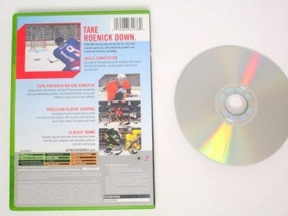ESPN Hockey 2004 game for Xbox | The Game Guy