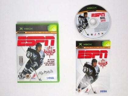 ESPN NHL 2K5 game for Microsoft Xbox -Complete