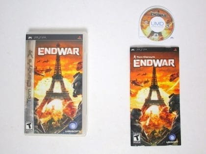 End War game for Sony PSP -Complete