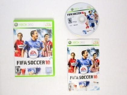 FIFA Soccer 10 game for Microsoft Xbox 360 -Complete