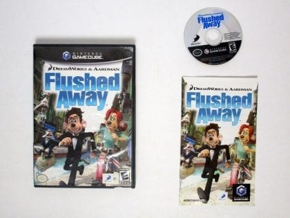 Flushed Away game for Nintendo Gamecube -Complete