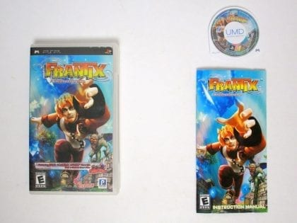Frantix game for Sony PSP -Complete