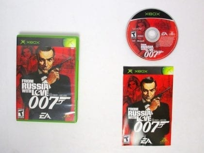 From Russia With Love game for Microsoft Xbox -Complete