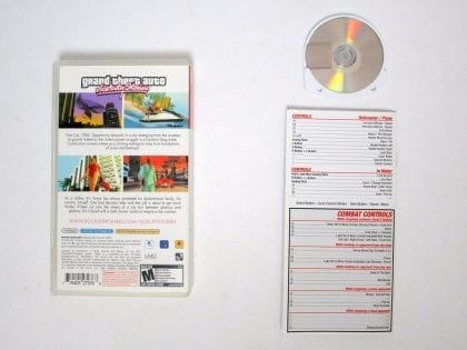 Grand Theft Auto Vice City Stories game for PSP (Complete) | The Game Guy