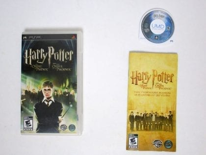 Harry Potter and the Order of the Phoenix game for Sony PSP -Complete