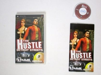 Hustle Detroit Streets game for Sony PSP -Complete