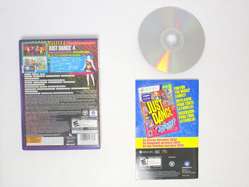 Just Dance 4 Game For Xbox 360 Complete The Game Guy