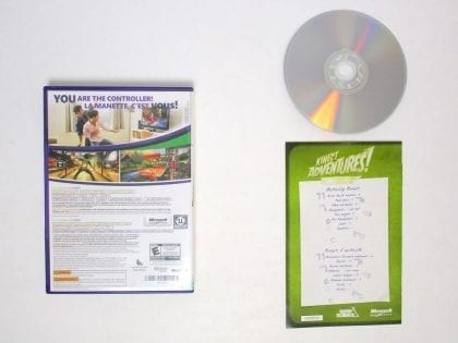 Kinect Adventures game for Xbox 360 (Complete)   The Game Guy