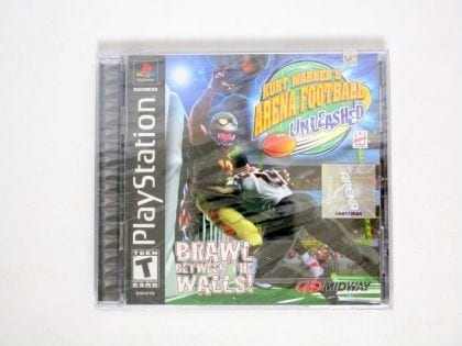 Kurt Warner's Arena Football Unleased game for Playstation PS1 PSX - New
