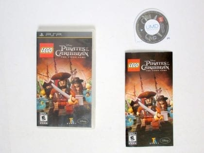 LEGO Pirates of the Caribbean: The Video Game game for Sony PSP -Complete