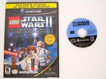 LEGO Star Wars II Original Trilogy game for Nintendo Gamecube -Game & Case