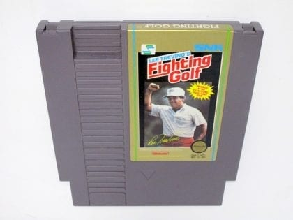 Lee Trevino's Fighting Golf game for Nintendo NES - Loose