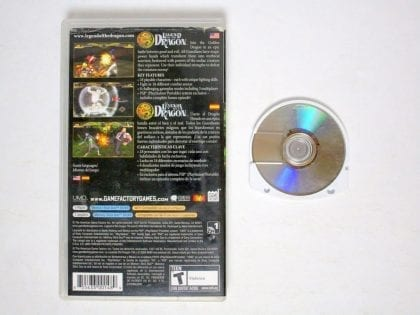 Legend of the Dragon game for PSP   The Game Guy