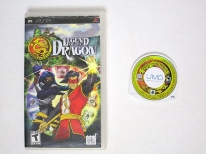 Legend of the Dragon game for Sony PSP -Game & Case