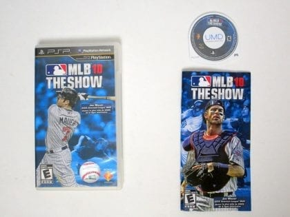 MLB 10 The Show game for Sony PSP -Complete