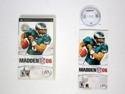 Madden NFL 2006 game for Sony PSP -Complete