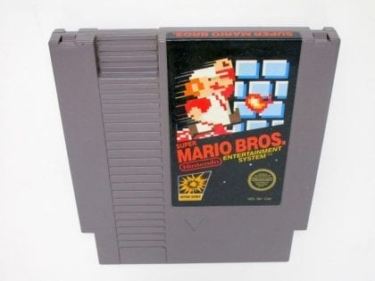 Mario Bros game for Nintendo NES - Loose