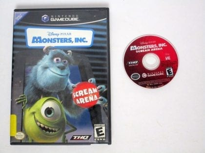 Monsters Inc game for Nintendo Gamecube -Game & Case