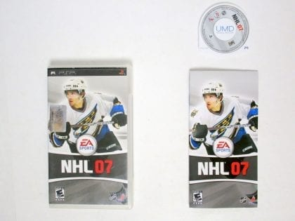NHL 07 game for Sony PSP -Complete