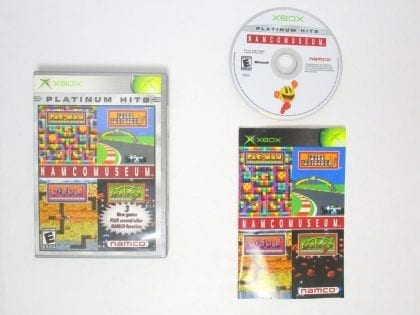 Namco Museum game for Microsoft Xbox -Complete