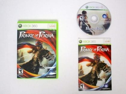 Prince of Persia game for Microsoft Xbox 360 -Complete